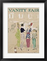 Framed Vanity Fair June 1914 Cover