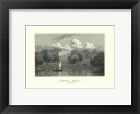 Cannon Hall Framed Print