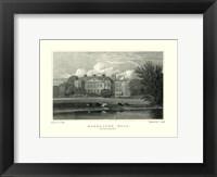 Framed Markeaton Hall