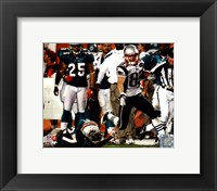 Framed Wes Welker 99 Yard Touchdown Reception 2011 Action