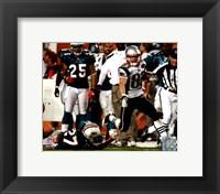 Framed Wes Welker 99 Yard Touchdown Reception 2011 Action