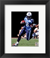Framed Chris Johnson 2011 Action