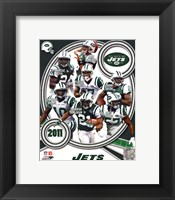 Framed New York Jets 2011 Team Composite