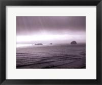 Framed California Coast I