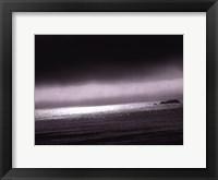 Framed California Coast II