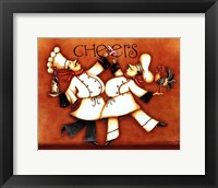 Framed Chef's Cheers