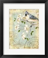 Songbird Sketchbook IV Framed Print