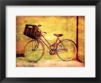 Bicicletta I Framed Print