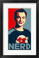 Framed Big Bang Theory - nerd
