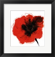 Red Drops I Framed Print
