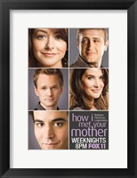 Framed How I Met Your Mother - characters