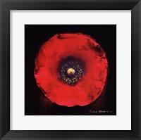 Framed Vibrant Flower VII