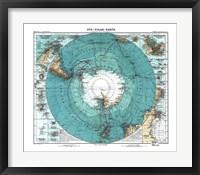 Framed Antarctica 1912