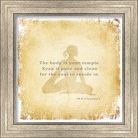 Framed Body is Your Temple
