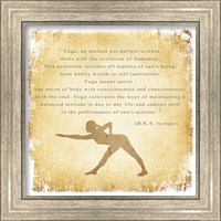 Framed Yoga is a Perfect Science