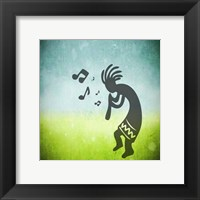 Framed Kokopelli Music I