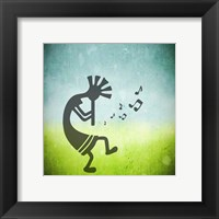 Kokopelli Music II Framed Print
