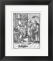 Framed Holbein Dance of Death II