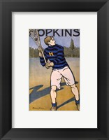 Framed Hopkins Lacrosse