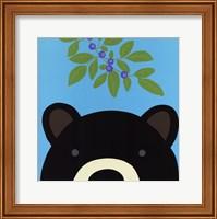 Framed Peek-a-Boo Bear