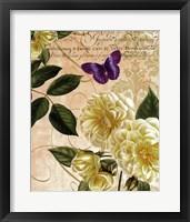 Framed Golden Roses