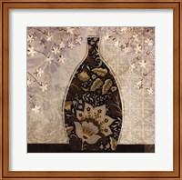 Framed Floral Ornament II