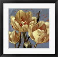 Framed Lemon Tulips 1