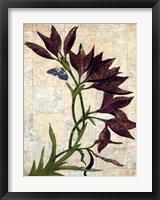 Framed Tropical Floral