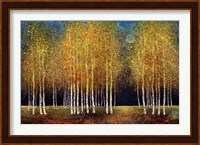 Framed Golden Grove