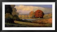 Framed Red Oak 3