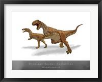 Framed Megalosaurus