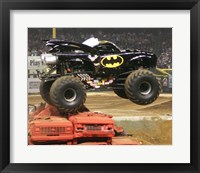 Framed Batman Monster Truck