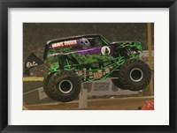 Framed Grave Digger Monster Truck