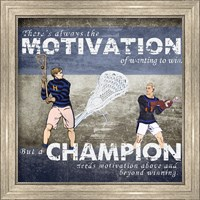 Framed Motivation of Wanting to Win