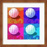 Framed Volleyball Pop