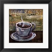 Java Roast Framed Print