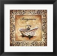 Framed Classic Baignoire