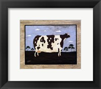 The Cow I Framed Print