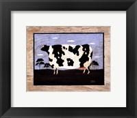 The Cow II Framed Print