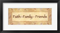 Framed Faith, Family, Friends