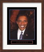 Framed Obama - Change