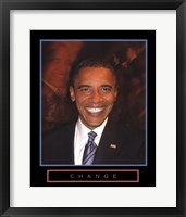 Framed Obama - Change