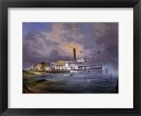 Framed Harvey's Pier