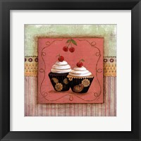 Framed CUPCAKE DELIGHT II