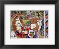 Framed Bunnies Dining