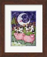 Framed Old MacDonald Pigs
