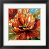 Framed Island Blossom II