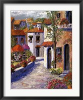 Mediterranean Shade I Framed Print