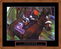 Framed Success - Horse