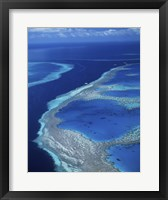 Framed Hardy Reef, Great Barrier Reef, Whitsunday Island, Australia